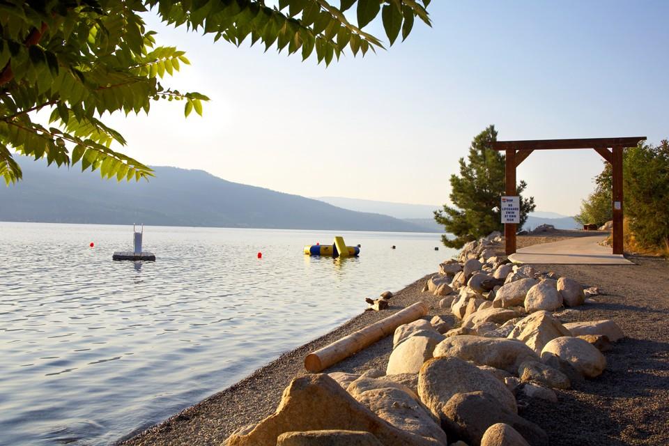 Top 10 Beaches in the Okanagan - Breakaway Vacations