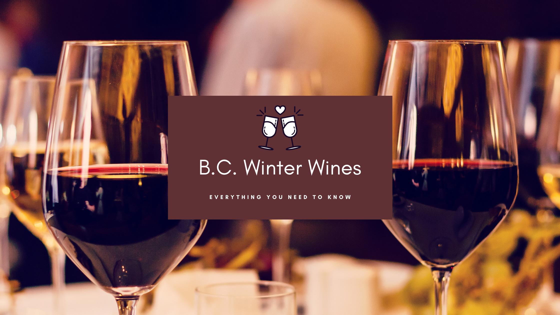BC Winter Wines banner
